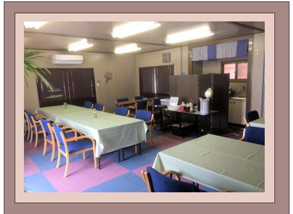 シオンホール倉敷食堂室内