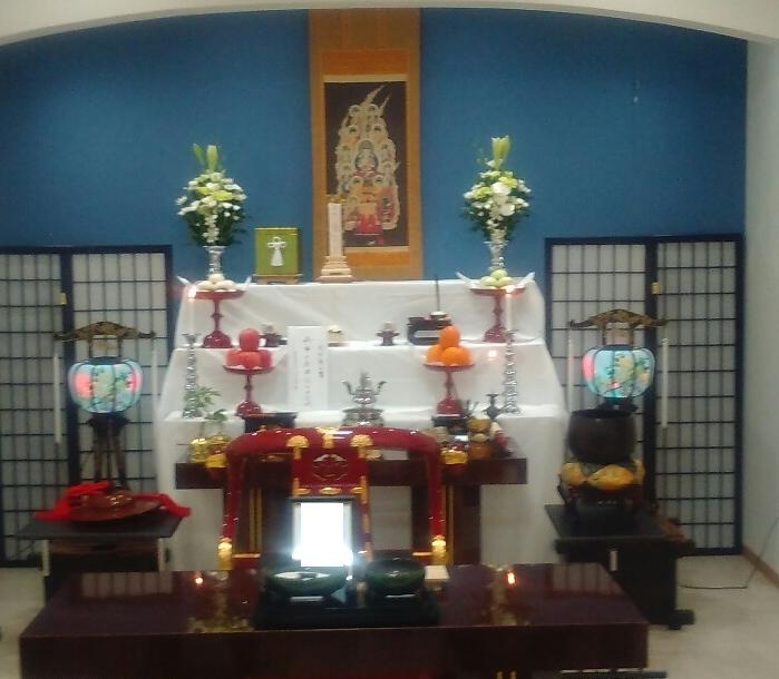 骨葬祭壇完成形