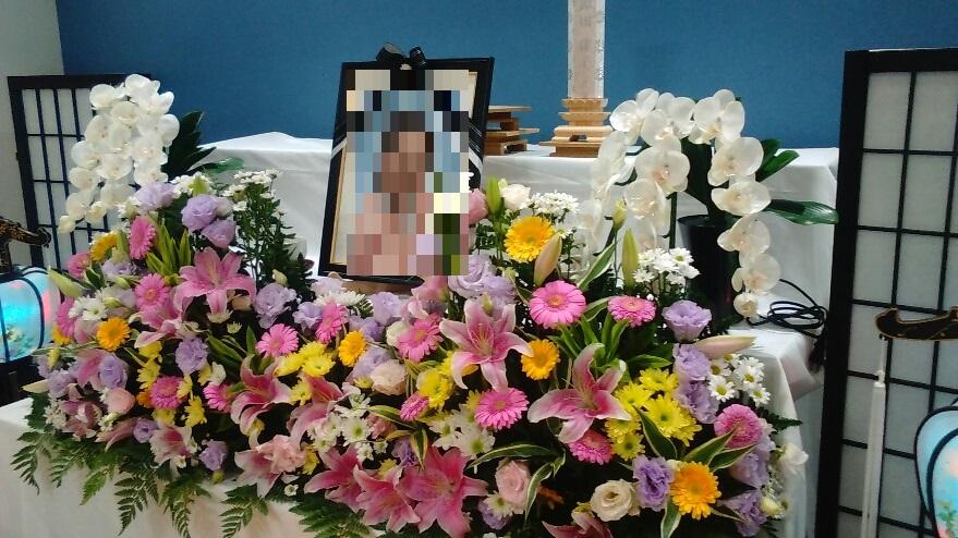 無宗教 生花祭壇