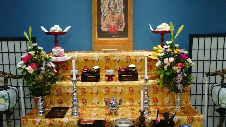 真言宗の法要祭壇