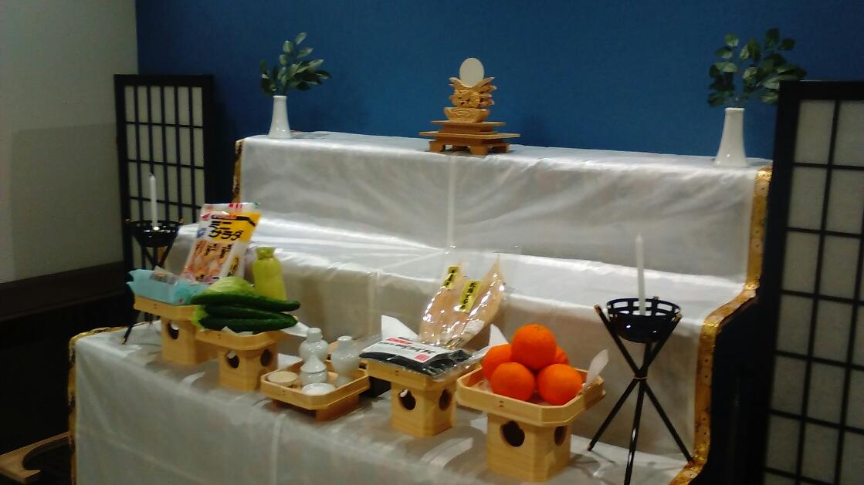 神社神道の祭壇