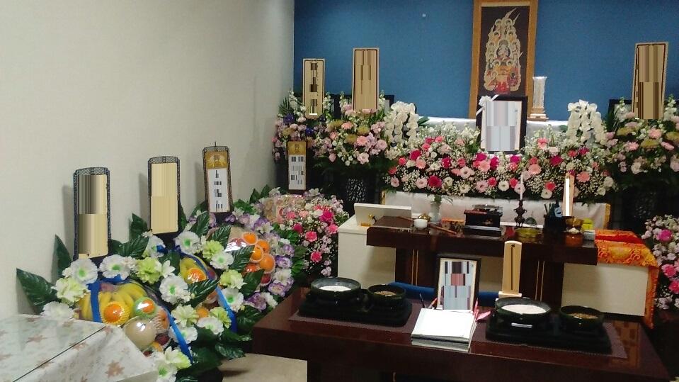 真言宗葬儀生花祭壇