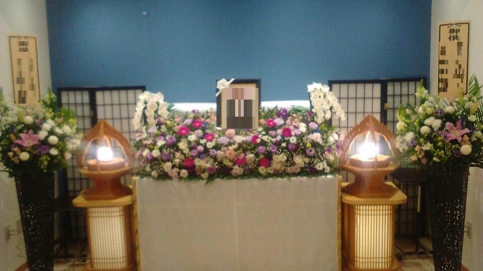 無宗教葬 お花祭壇