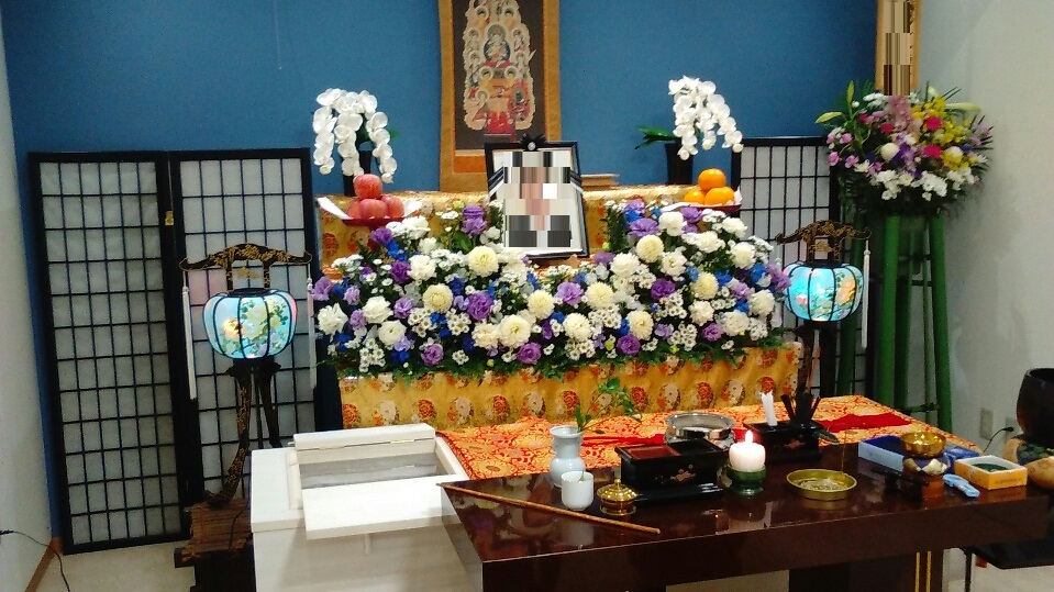 真言宗 お花祭壇