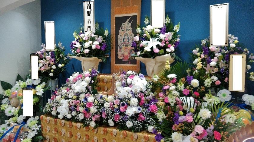 お花祭壇フリープラン