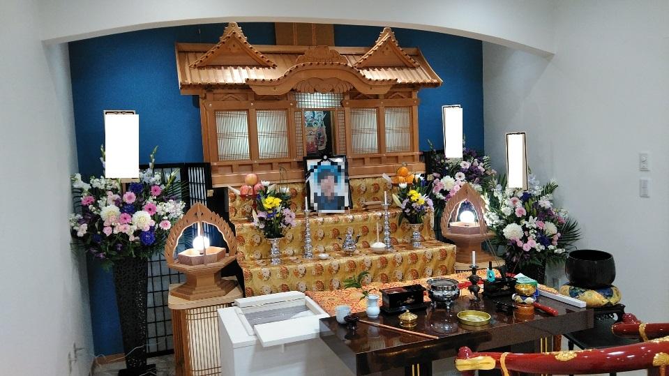 真言宗の祭壇