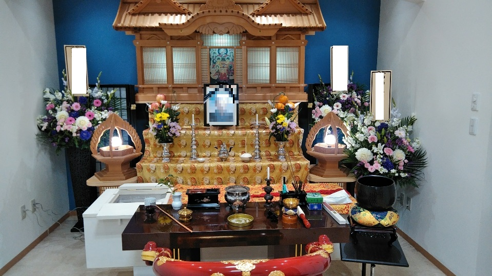 真言宗の葬儀祭壇