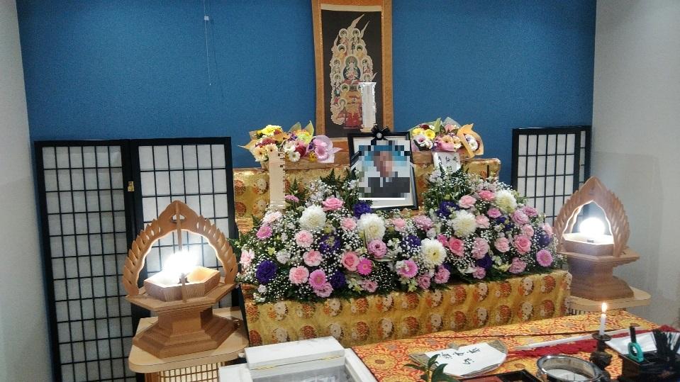 真言宗お花祭壇
