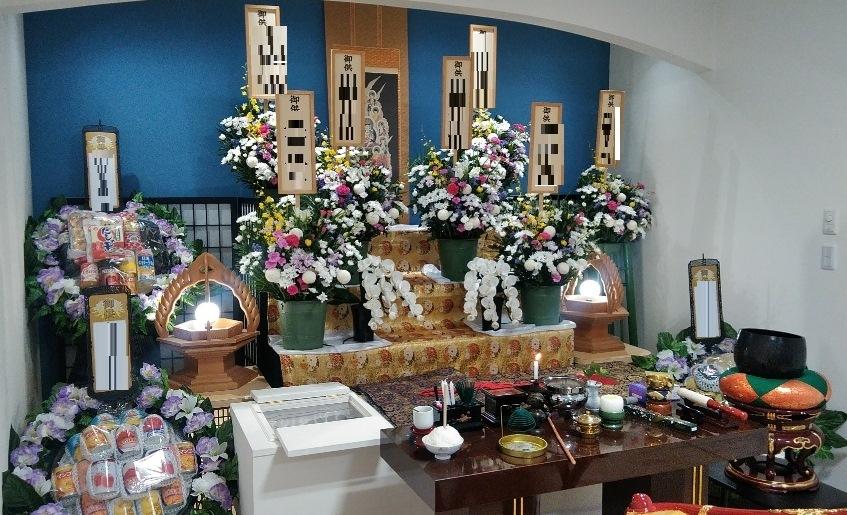 真言宗 葬儀祭壇